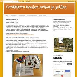 Länkkärin koulun arkea ja juhlaa: Suomi 100v -peli