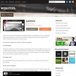 Lantern : web2feel.com