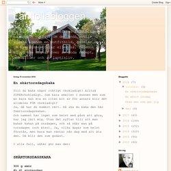 Lantlollabloggen: En skärtorsdagskaka
