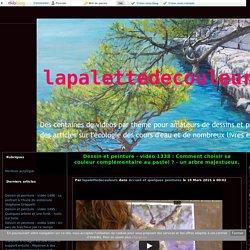 vidéo 1338 : Comment choisir sa couleur complémentaire au pastel ? - un arbre majestueux. - lapalettedecouleurs