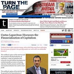 Costas Lapavitsas Discusses the Financialization of Capitalism