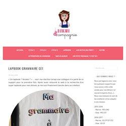Lapbook Grammaire CE1
