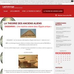 LA THEORIE DES ANCIENS ALIENS