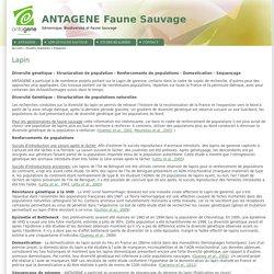 ANTAGENE Faune Sauvage