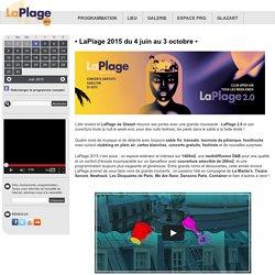 LaPlage » Concerts estivaux sur sable et à ciel ouvert by Glazart (Paris, Porte de la Villette).