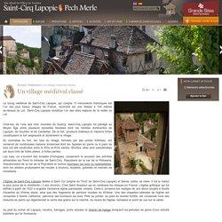 Saint-Cirq Lapopie, plus beau village de France et village préféré des français