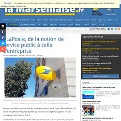 #LaPoste, de la notion de service public à celle d'entreprise