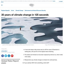 New time-lapse video shows how fast the Arctic Ocean's oldest sea ice is melting