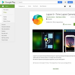 Time Lapse Camera - Apps on Google Play