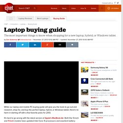 tech evolution pearltrees Buyers Guide for Laptops Laptop Notebook
