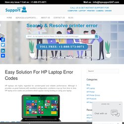 Easy Guide To help Fix HP Error Codes