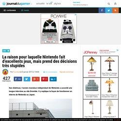 La raison pour laquelle Nintendo fait d'excellents jeux, mais prend des décisions très stupides