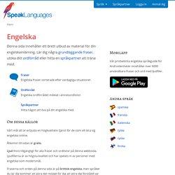 Lär dig engelska online