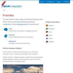 Lär dig franska online