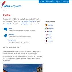Lär dig tyska online