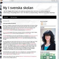 Lära sig svenska på internet