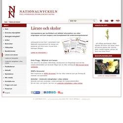 Lärare och skolor - Nationalnyckeln