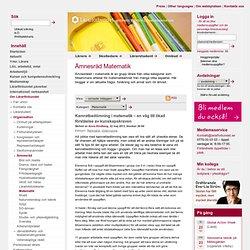 Lärarförbundet - Blogg - Ämnesråd Matematik