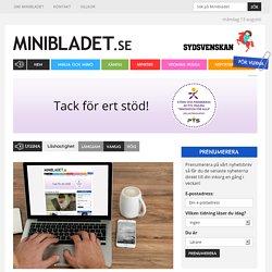 Lärarhandledning till MiniBladets valmaterial