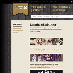 Lärarhandledningar - Bonnier Carlsen Förlag