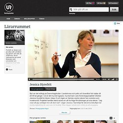 Lärarrummet: Jessica Hyrefelt