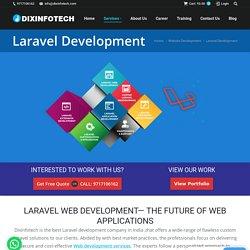 Laravel Web design Company in India