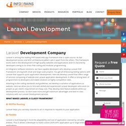 Best Laravel Web Development Company In UAE