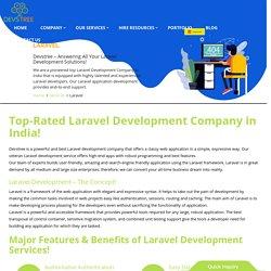 Laravel Web Development Company in India