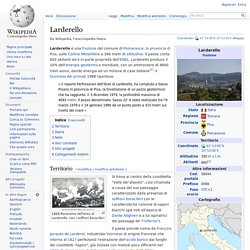 Larderello (wikipedia)