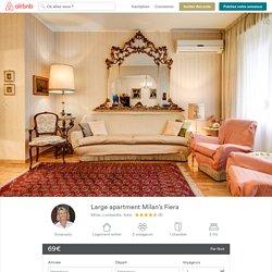 Large apartment Milan's Fiera à Milan