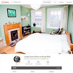 Large Sunny Room on Royal Mile - Appartements à louer à Édimbourg