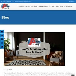 How To Dry A Large Rug Area In 6 Steps