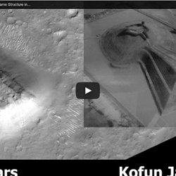 ▶ A Large Structure On Mars The Same Structure in Kofun Japan, August 2013