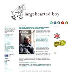 largehearted boy: a boy, a girl, and his radio