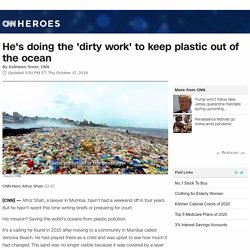 He led the world's largest beach cleanup. Now, he's on a mission to save the ocean from plastic.