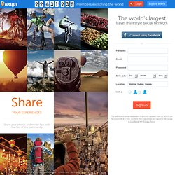 Where Are You Now?): The world's largest travel and lifestyle social network