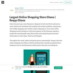 Largest Online Shopping Store Ghana