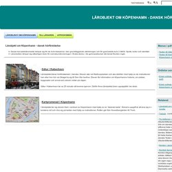 Lärobjekt om Köpenhamn - Lärobjekt om Köpenhamn