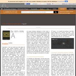 Archive Larousse : Grande Encyclopédie Larousse - Anatolie