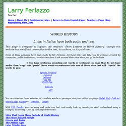 Larry Ferlazzo, Teacher