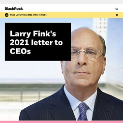 Larry Fink's Letter to CEOs