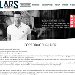 Lars Godbersen - Foredragsholder