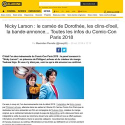 Nicky Larson : le caméo de Dorothée, les clins-d'oeil, la bande-annonce... Toutes les infos du Comic-Con Paris 2018 - Actus Ciné