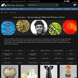 Buy Lisa Larson pottery from Mother Sweden
