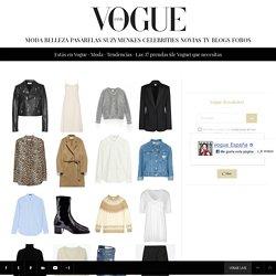 Las 37 prendas (de Vogue) que necesitas