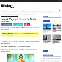 Las 62 Mejores Frases de Buda