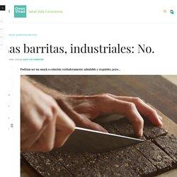 Las barritas, industriales: No.