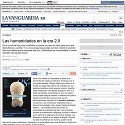 Las humanidades en la era 2.0
