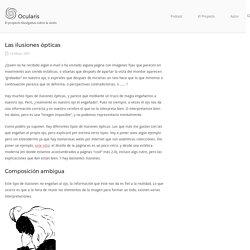 Las ilusiones ópticas - Ocularis