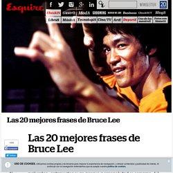 Las 20 mejores frases de Bruce Lee